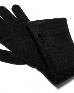 Перчатки Benetton. Цвет: черный