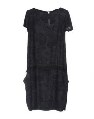 Короткое платье EMMA&GAIA. Цвет: стальной серый