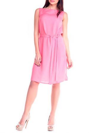 Платье MAURINI. Цвет: светло-коралловый
