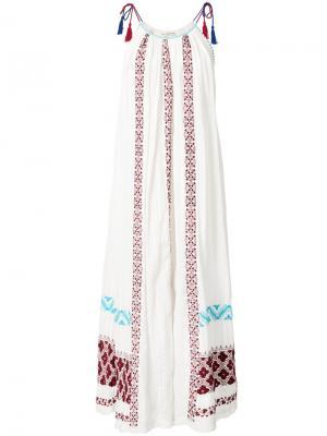 Платье Siran Ulla Johnson. Цвет: белый