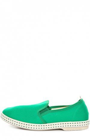 Эспадрильи Rivieras Leisure Shoes. Цвет: зеленый