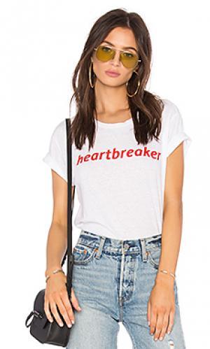 Футболка heartbreaker Private Party. Цвет: белый