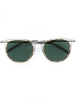Солнцезащитные очки Tomas Maier. Цвет: белый