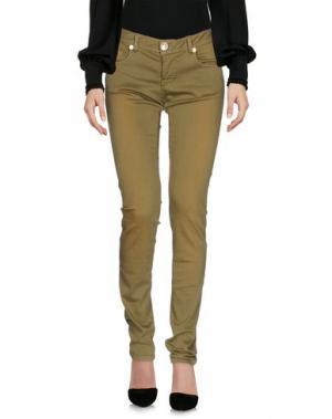Повседневные брюки LES ÉCLAIRES. Цвет: зеленый-милитари