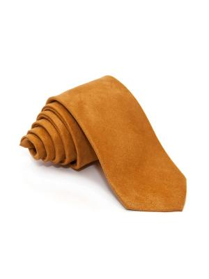 Галстук Churchill accessories. Цвет: горчичный, золотистый, желтый