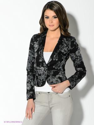 Пиджак Oodji. Цвет: черный, серый