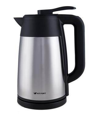 Чайник Vacuum Edition КТ-620-2 Kitfort. Цвет: серебристый