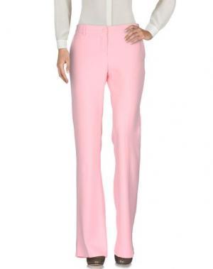 Повседневные брюки LUNATIC. Цвет: розовый