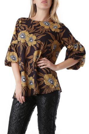Блуза Sexy Woman. Цвет: коричневый