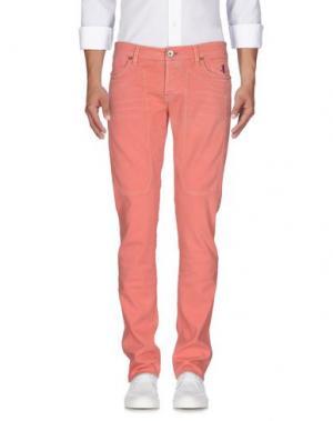 Джинсовые брюки JECKERSON. Цвет: розовый