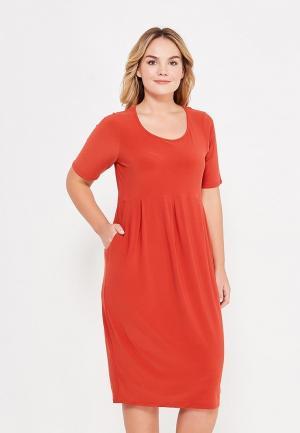 Платье Evans. Цвет: оранжевый