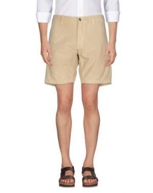 Повседневные шорты MURPHY & NYE. Цвет: песочный