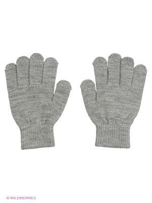 Перчатки Reserved. Цвет: серый