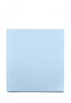 Постельное белье Евро Sova & Javoronok. Цвет: голубой