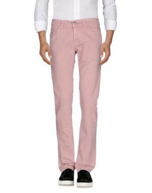 Джинсовые брюки DONDUP. Цвет: розовый
