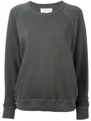 Crew neck sweatshirt The Great. Цвет: серый