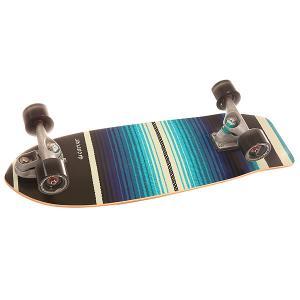 Скейт круизер  C7 Complete Serape Assorted 10 x 29.75 (75.6 см) Carver. Цвет: черный,голубой,белый,синий
