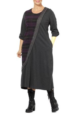 Платье Zedd Plus. Цвет: purple