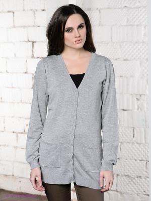 Кардиган Vero moda. Цвет: серый