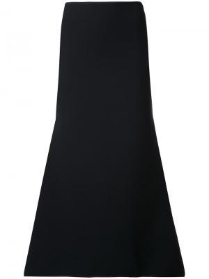 Расклешенная юбка Maticevski. Цвет: чёрный