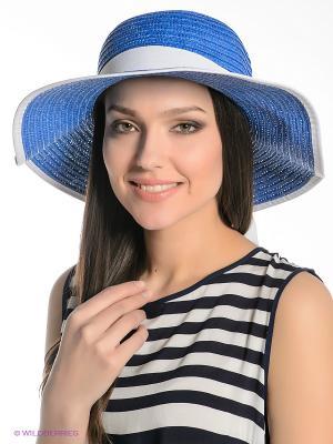 Шляпа Ваша Шляпка. Цвет: синий, белый