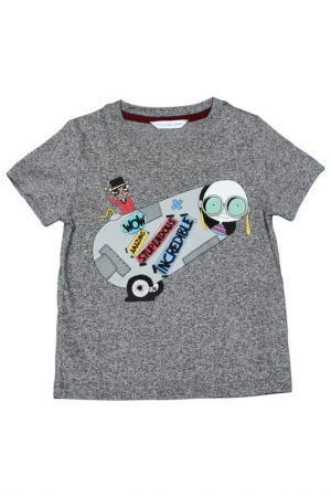 Футболка Little Marc Jacobs. Цвет: темно-серый