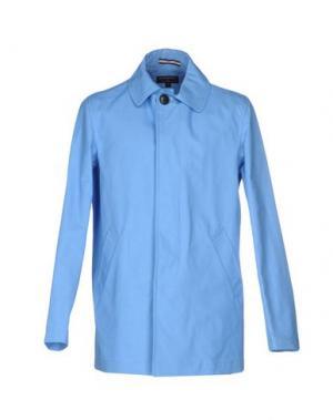 Легкое пальто GLOVERALL. Цвет: синий