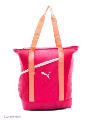 Сумка Fit AT Shopper Puma. Цвет: розовый