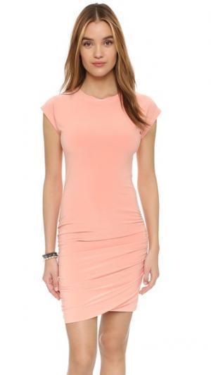 Мини-платье MISA. Цвет: розовый