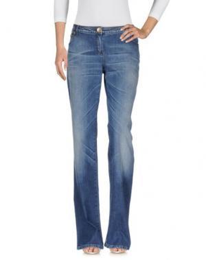 Джинсовые брюки HUSKY. Цвет: синий