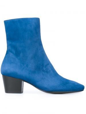 Ботинки Drop Nose Dorateymur. Цвет: синий