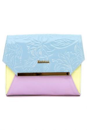 Сумка MARINA C.. Цвет: голубой, розовый