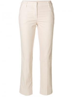 Укороченные брюки Dorothee Schumacher. Цвет: телесный