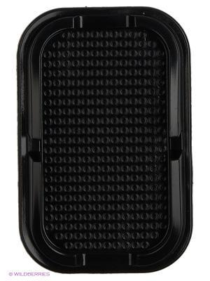 Липкий коврик-подставка SP-02B силиконовый черный WIIIX. Цвет: черный