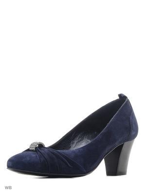 Туфли ARTY. Цвет: синий