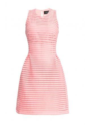 Платье из искусственного шелка 156766 Cavo. Цвет: розовый
