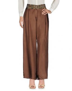 Повседневные брюки DANIELA PANCHERI. Цвет: какао