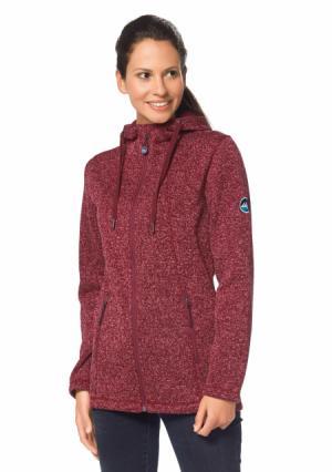 Флисовая куртка POLARINO. Цвет: 5х набор, темно-красный