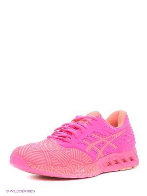 Спортивная обувь fuzeX ASICS. Цвет: розовый, персиковый