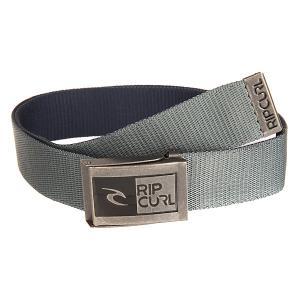 Ремень  Rippen Revo Webbed Grey Rip Curl. Цвет: серый,синий