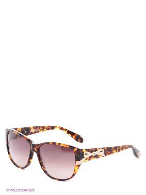 Солнцезащитные очки BLD 1406 203 Baldinini. Цвет: коричневый, желтый