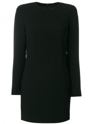 Облегающее платье с длинными рукавами Dsquared2. Цвет: чёрный