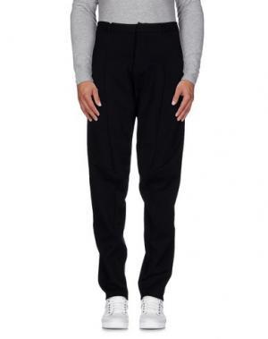 Повседневные брюки NERO INK. Цвет: черный