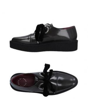 Обувь на шнурках MARC BY JACOBS. Цвет: серый