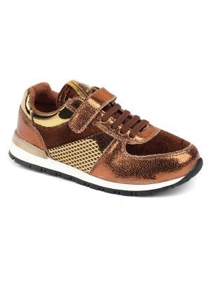 Кроссовки King Boots. Цвет: коричневый