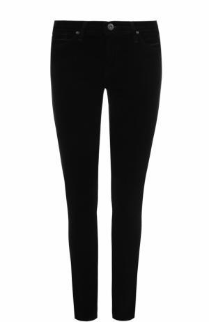 Однотонные брюки-скинни Ag. Цвет: черный