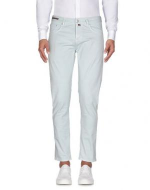 Повседневные брюки PT05. Цвет: небесно-голубой
