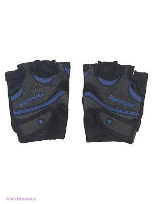 Перчатки для фитнеса мужские FlexFit HARBINGER. Цвет: черный, синий