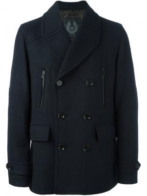 Пальто-бушлат Corringham Belstaff. Цвет: синий