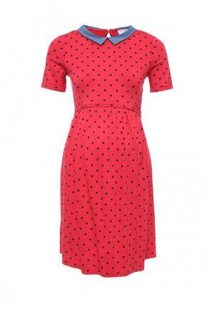Платье Envie de Fraise. Цвет: красный